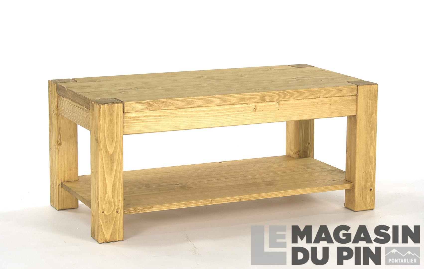 Table Basse En Pin.Table Basse Adriana