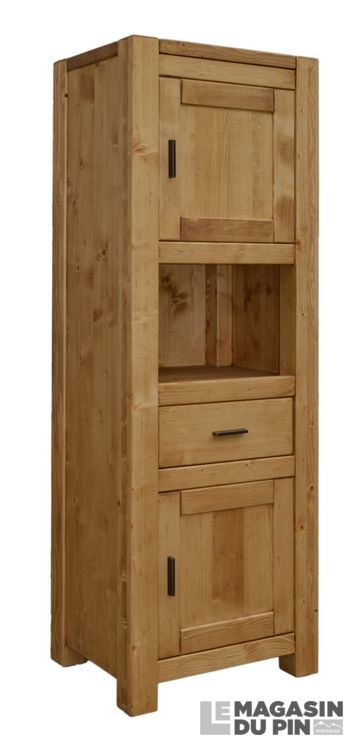 interesting bonnetire portes adriana with bonnetiere en pin massif. Black Bedroom Furniture Sets. Home Design Ideas