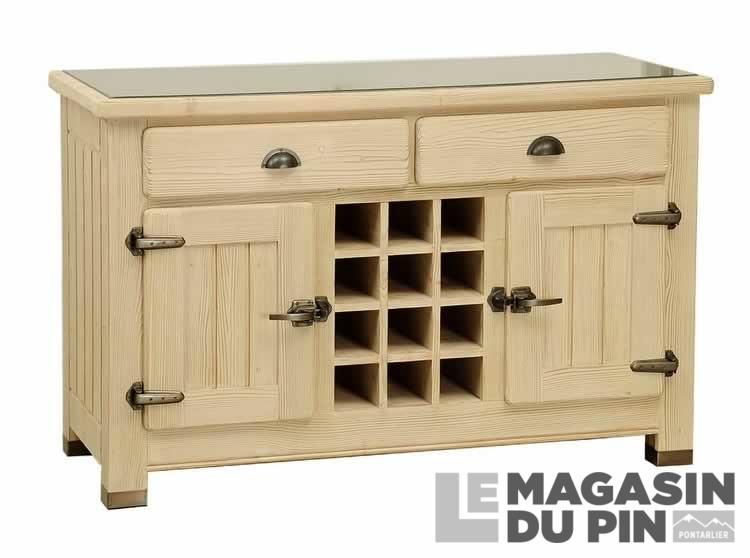 billot double face en pin massif avoriaz le magasin du pin. Black Bedroom Furniture Sets. Home Design Ideas