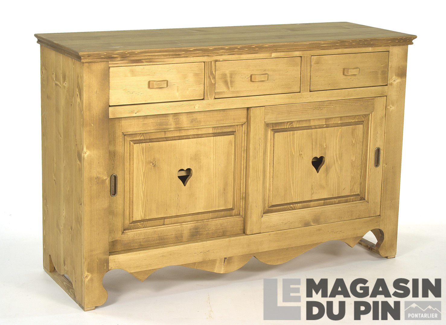 meubles en pin massif collection chamonix le magasin du pin. Black Bedroom Furniture Sets. Home Design Ideas