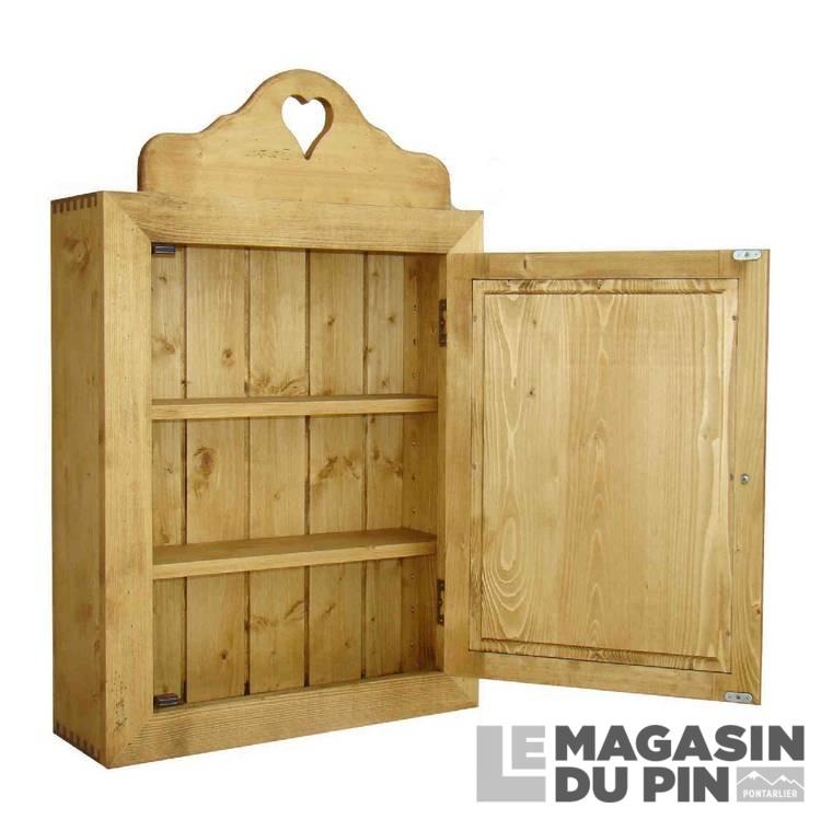 l ment suspendu salle de bain en pin massif chamonix le. Black Bedroom Furniture Sets. Home Design Ideas