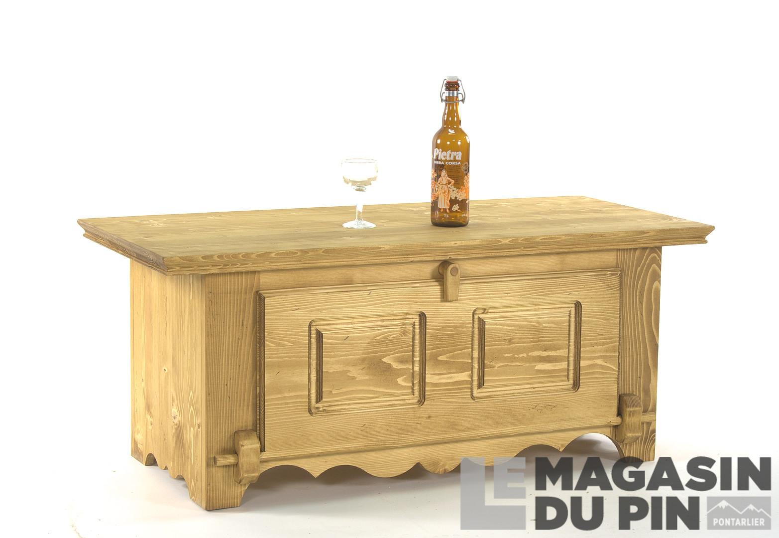 1e745eb545c49d Meubles bar en pin massif Le Magasin du Pin