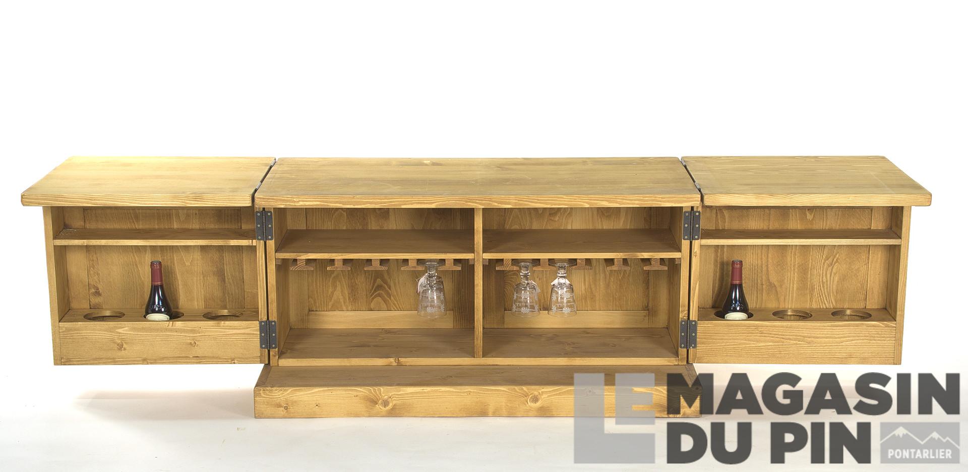 Meuble Mini Bar D Angle table basse mini bar chamonix
