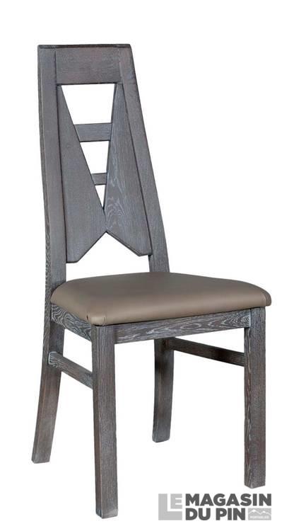 chaise soho dossier chne - Chaise En Chene