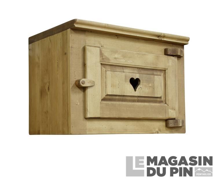 meuble haut sur hotte cuisine chamonix en pin massif le magasin du. Black Bedroom Furniture Sets. Home Design Ideas