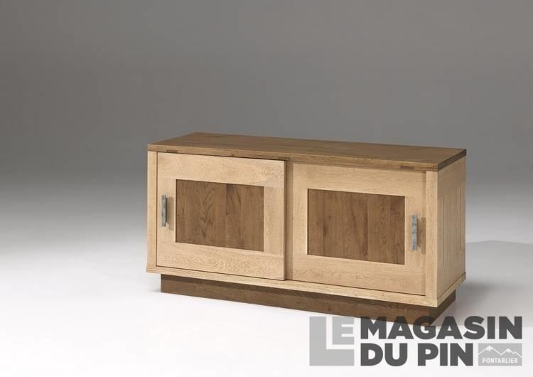 Meubles tv en ch ne massif le magasin du pin for Collection a 2000 meuble