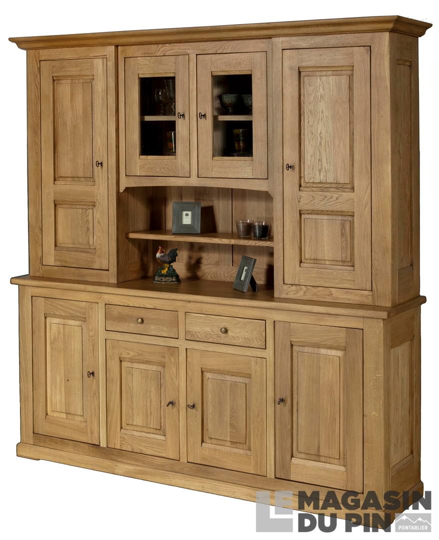 meubles 2 corps en ch ne massif le magasin du pin. Black Bedroom Furniture Sets. Home Design Ideas