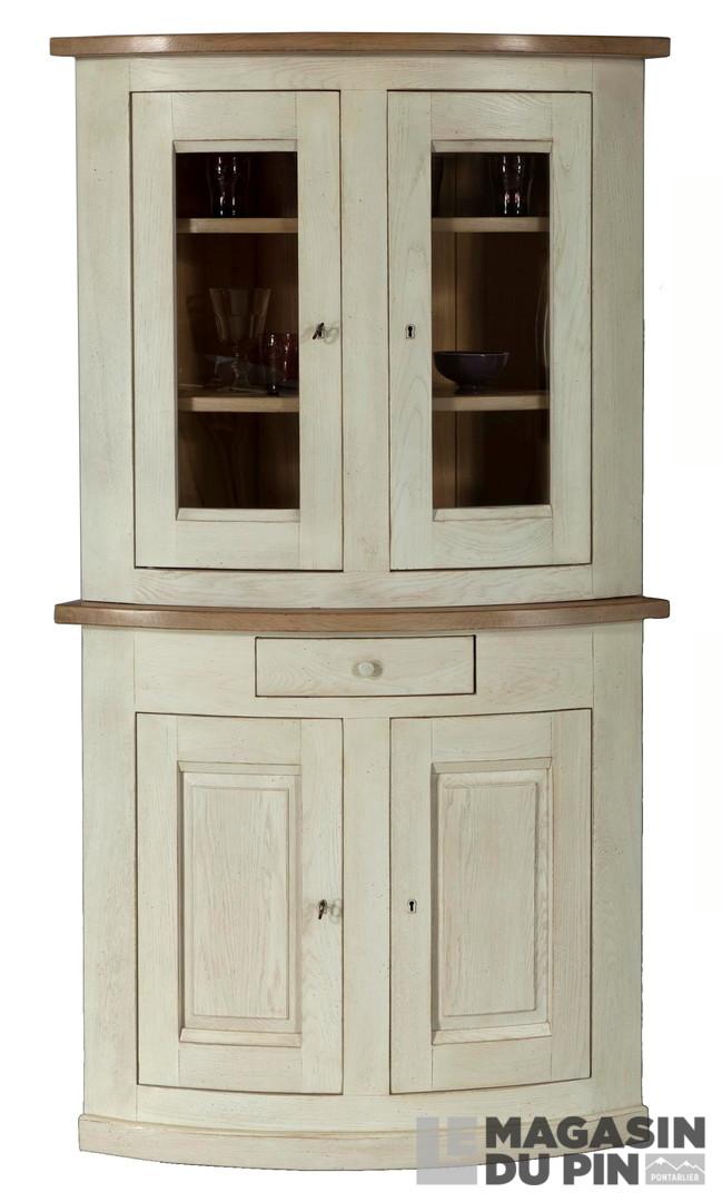 meubles d 39 angle en ch ne massif le magasin du pin. Black Bedroom Furniture Sets. Home Design Ideas