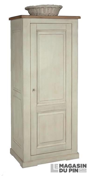 bonneti re ch ne massif classique 1 porte loire le magasin du pin. Black Bedroom Furniture Sets. Home Design Ideas