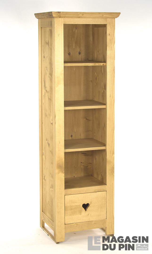 colonne 3 tag res en pin massif meg ve le magasin du pin. Black Bedroom Furniture Sets. Home Design Ideas