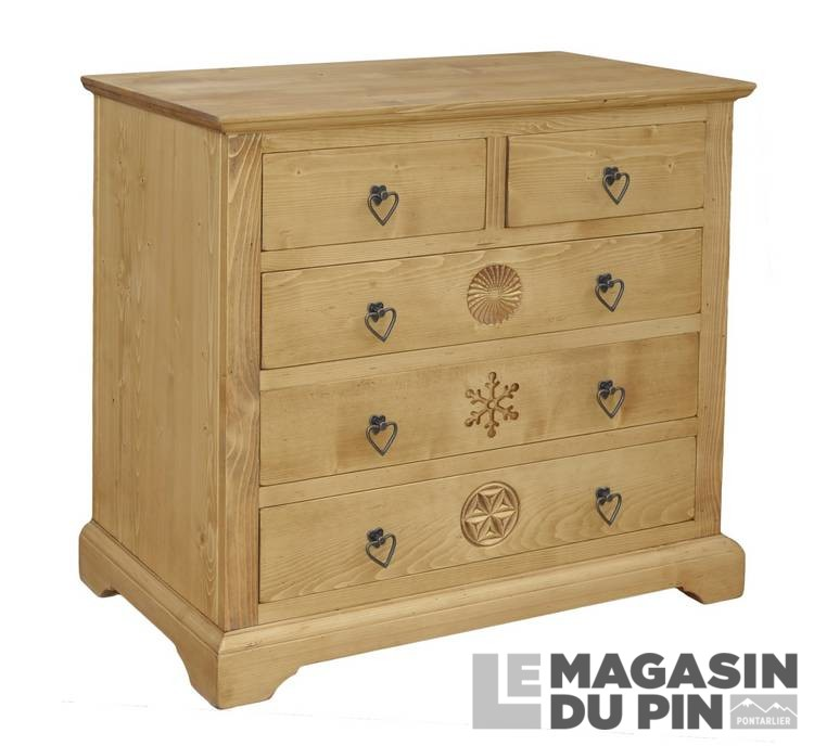 meubles en pin massif collection meubles chalet le magasin du pin. Black Bedroom Furniture Sets. Home Design Ideas