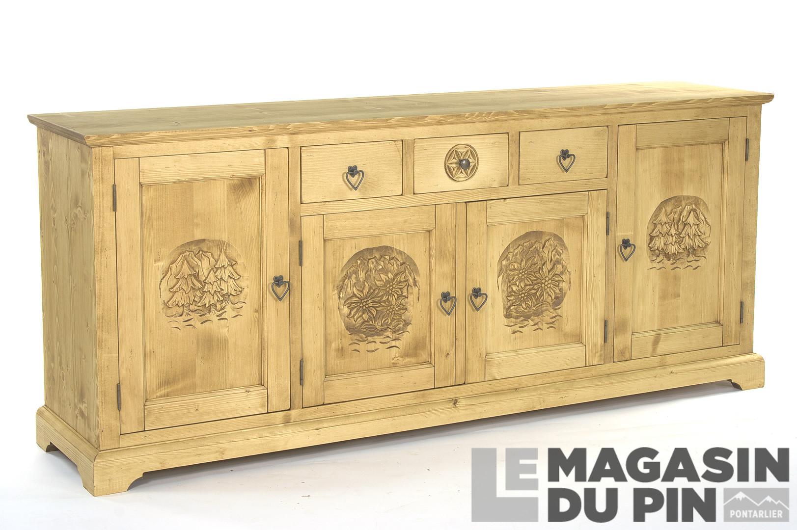 Mobilier Pour Chalet Montagne meubles en pin massif collection meubles chalet le magasin