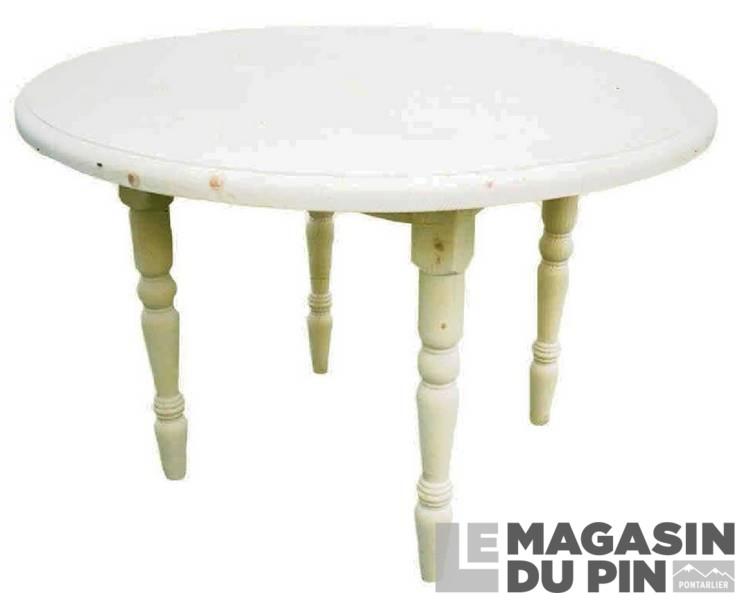 table ronde pin massif pliante transilvania le magasin du pin. Black Bedroom Furniture Sets. Home Design Ideas