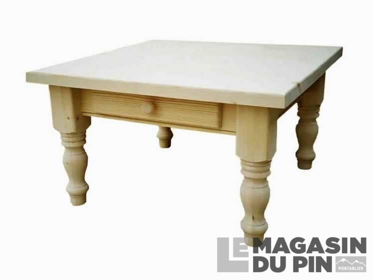 table basse pin massif arizona transilvania le magasin du pin. Black Bedroom Furniture Sets. Home Design Ideas