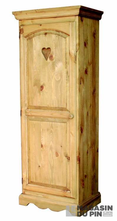 homme debout en pin massif le magasin du pin. Black Bedroom Furniture Sets. Home Design Ideas
