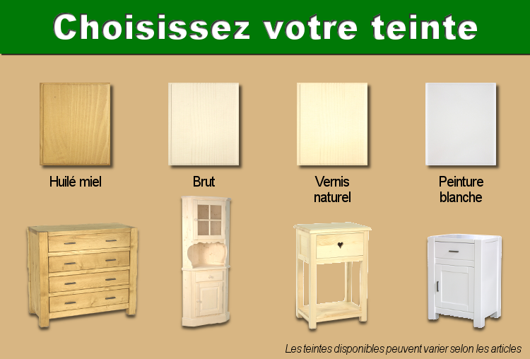 vente de meubles en pin pic a et ch ne massif le magasin du pin. Black Bedroom Furniture Sets. Home Design Ideas