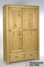 Armoire Adriana 2 portes coulissantes
