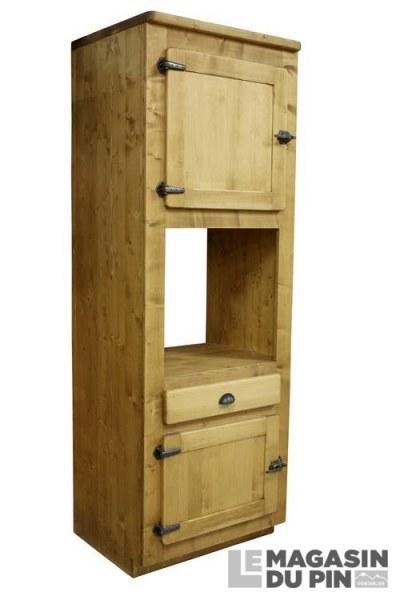colonne four pin massif pour cuisine avoriaz le magasin du pin. Black Bedroom Furniture Sets. Home Design Ideas