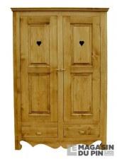 Armoire 2 portes Chamonix