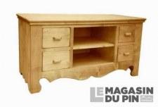 Meuble TV 4 tiroirs Chamonix