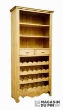 Meuble bar 2 tiroirs Chamonix
