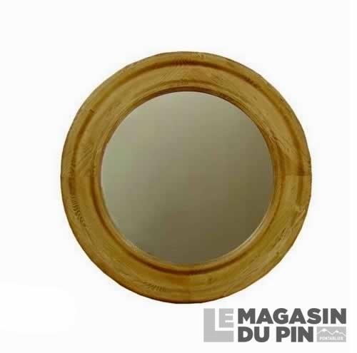Miroir Oeil de Boeuf Chamonix