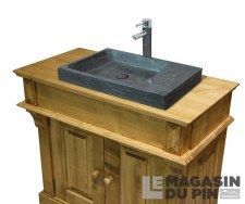 Meuble lavabo simple Chamonix