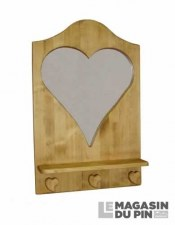 Miroir coeur Chamonix