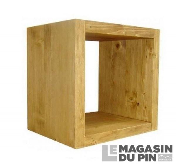 Cube de rangement 1 niche Chamonix