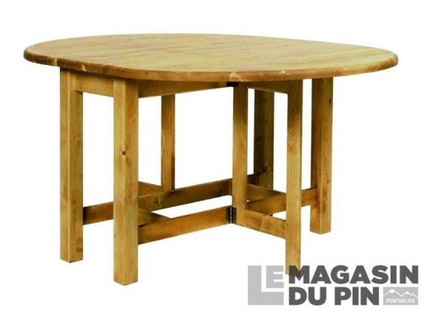 table ovale en pin massif chamonix le magasin du pin. Black Bedroom Furniture Sets. Home Design Ideas