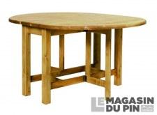 Table ovale Chamonix