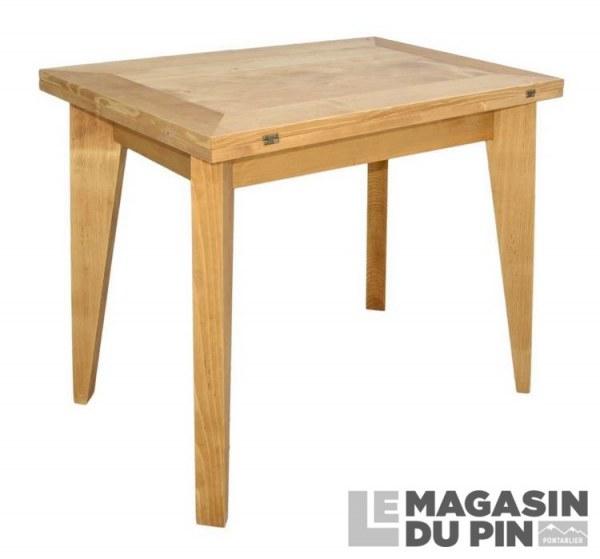 Table extensible pieds fuseaux Chamonix