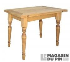 Table extensible pieds tournés Chamonix
