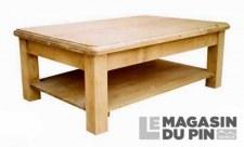 Table basse 120cm Chamonix