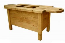 Table basse bar Chamonix