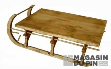 Table basse luge GM Chamonix
