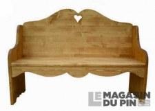 Banquette montagnarde Chamonix