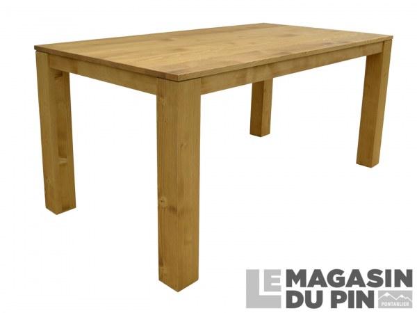 Table repas Cardiff 160cm