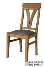 Chaise Loire assise PVC