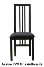 Chaise repas métal Verrière