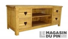 Meuble TV 4 tiroirs Megève