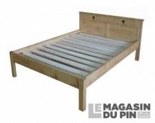 Lit double 160x190cm Megève
