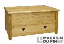 Coffre 1 tiroir Megève
