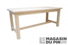 Table de ferme 200cm