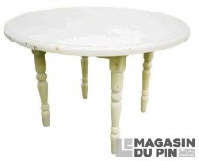 Table ronde pliante Transilvania