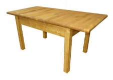 Table rectangulaire 1 allonge Transilvania