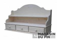 Sur-meuble 3 tiroirs Transilvania