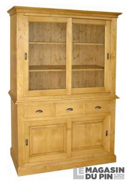 meuble 2 corps pin massif avignon le magasin du pin. Black Bedroom Furniture Sets. Home Design Ideas
