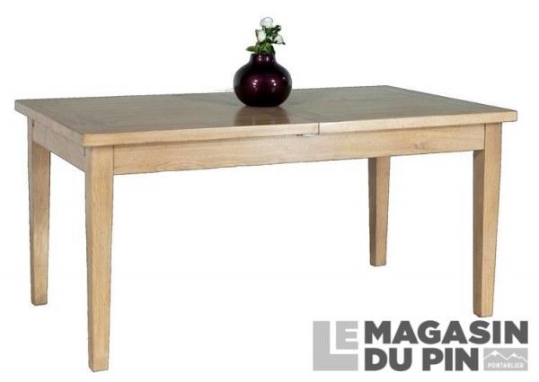 Table rectangulaire Loire