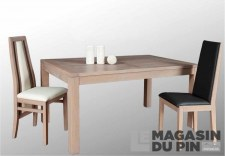Table rectangulaire 160cm